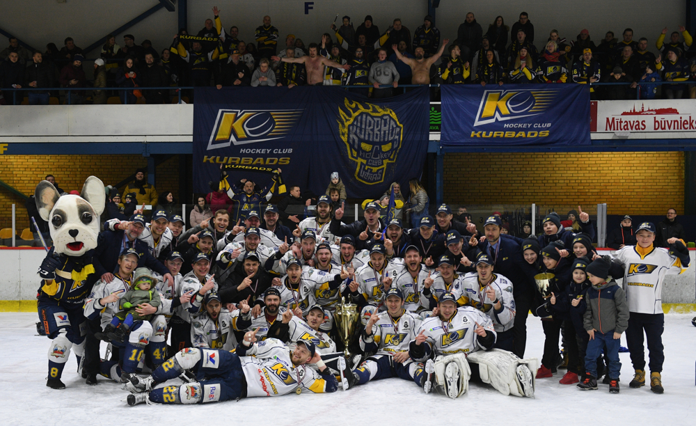 Kurbads – champions!