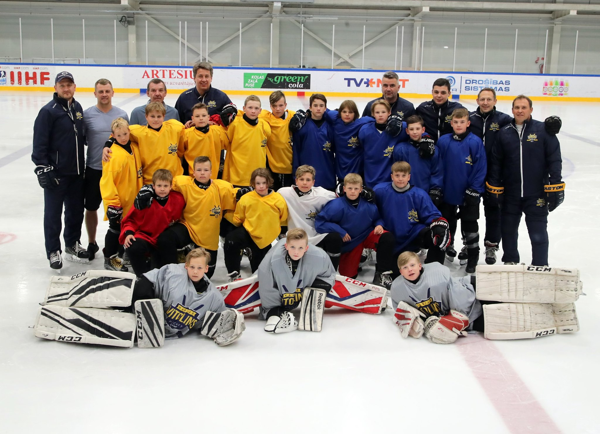 On June 2020 the second Harijs Vītoliņš Ice Hockey camp will take place
