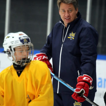 Harijs Vitolins Ice Hockey camp 2019