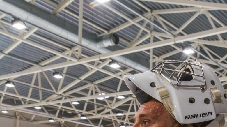 "Kristers Gudļevskis: ""I can prepare myself for new season in Kurbads ice rink"""