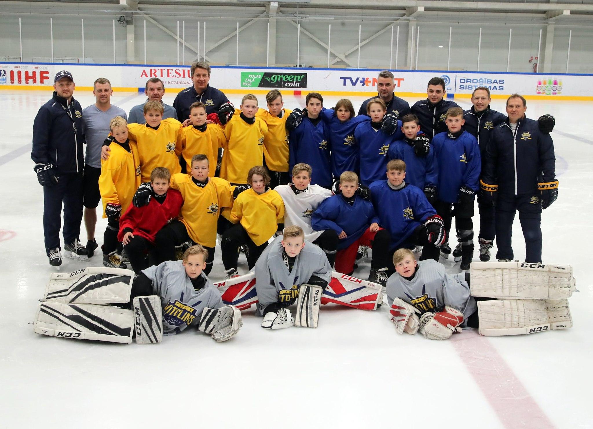 2020. gada jūnijā Rīgā tiks aizvadīta otrā Harija Vītoliņa hokeja nometne!